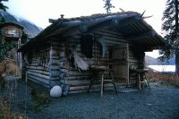 dick proenneke cabin in Alaska