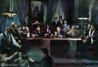 Last Supper-Mob Style