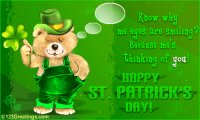 St. Patty Bear