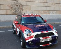Mini Cooper in Great Britain
