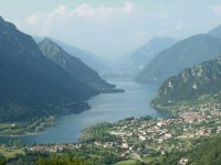 View lake Lago Idro