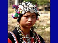 .Laos Akha Woman