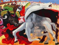 Bullfight, Death of the Toreador