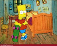 The-Simpsons-by-Van-Gogh