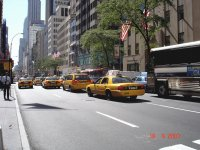 Yellow cabs, NYC
