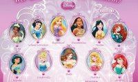 Princesses in Medaillons